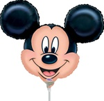 14 inch Disney Mickey Mouse Mini Shape Head foil balloon