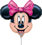14 inch Disney Minnie Mouse Mini Shape Head