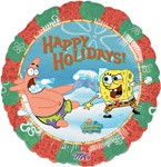 18 inch SpongeBob SquarePants Happy Holidays, Price Per EACH, Minimum Order 10