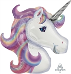 33 inch Pastel Unicorn Foil Balloon