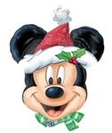 Mickey Christmas Balloon