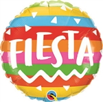 Fiesta Rainbow Stripes Balloon