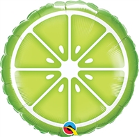 Sliced Lime Balloon