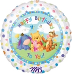 18 inch Disney Pooh Group Birthday