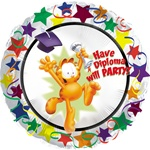 Garfield Diploma Party 18 inch Foil Balloon