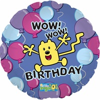 18in Wow! Wow! Wubbzy! Birthday Foil Balloon