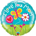 Love You Mom Balloon