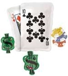 30in Poker Party Cluster foil balloon