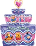 28 inch Disney Winnie the POOH Party Happy Birthday Cake