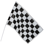 12 inch x 18 inch Plastic Checkered Racing Flag