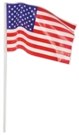 Plastic USA Flag