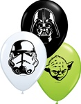 5 inch Qualatex Star Wars FACE Assortment