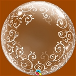 24 inch DECO BUBBLES Fancy Filigree