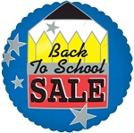 18in Back To School SALE