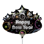 14 inch Happy New Year Marquee balloon. By Anagram