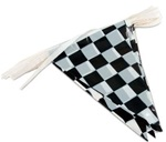 100ft Pennant Flags CHECKER