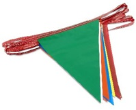 100ft Pennant Flags MULTI COLOR