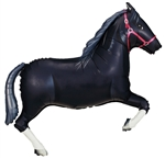 43 inch Horse BLACK (PKG), Price Per EACH