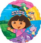 18 inch Dora & Friends Happy Birthday