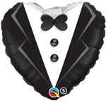 18 inch Wedding Tuxedo foil balloon
