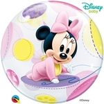 22 inch BUBBLES Disney Baby Minnie Mouse