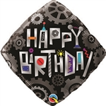 Birthday Cogwheels Balloon