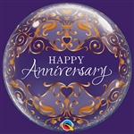 Anniversary Classic Bubble Balloon