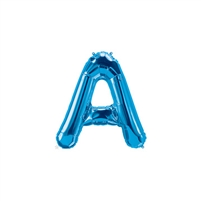 16 inch Letter A Northstar BLUE