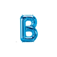 16 inch Letter B Northstar BLUE
