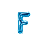 16 inch Letter F Northstar BLUE
