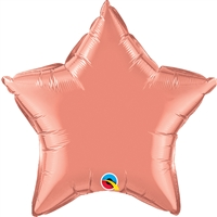 20 inch Star Qualatex Foil Coral