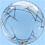24 inch Deco BUBBLE Spiderweb