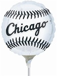 9 inch CHICAGO WHITE SOX (2 side), Price Per EACH, Minimum Order 20