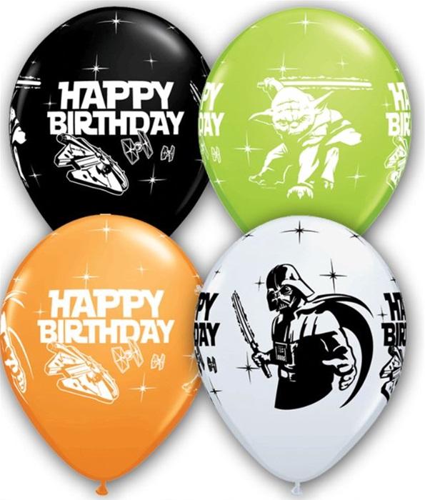 11 Inch Star Wars Happy Birthday Special Assortment Latex