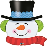 36in Smiling Snowman
