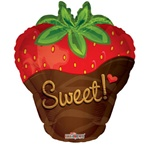 18 inch Sweet Strawberry Balloon
