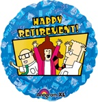18 inch Dilbert Happy Retirement, Price Per EACH
