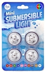 Submersible 1 1/4 inch diameter WARM WHITE Light