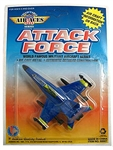 4in Stealth Attack Force Military Aircraft