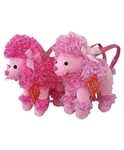 10in Pink Poodle Purse
