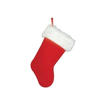 15 inch Plush Christmas Stocking