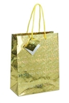 Medium Gift Bags HOLOGRAM GOLD