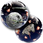 24 inch Star Wars Death Star Double Bubble Balloon