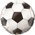 36 inch Soccer Ball Foil Balloon