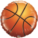 36 inch Basketball Foil Balloon