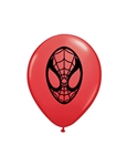5 inch Qualatex Spider-Man on Red