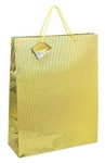 Large Gift Bags HOLOGRAM GOLD