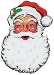Santa Claus Face Cutout