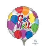 9 inch Get Well Balloons