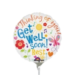 9 inch Get Well Messages